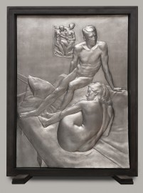 relief sculpture by Christopher Smith