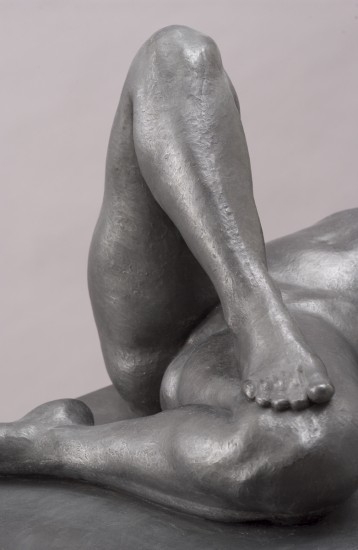 Cumulus Recumbent (detail) by Christopher Smith